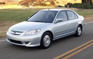 2004 Honda Civic Hybrid Honda Civic Hybrid Honda Civic Honda Civic 2005