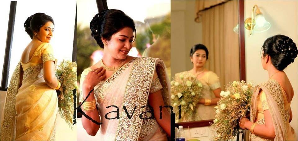 Whitesaree Kasavu Bride Kerala