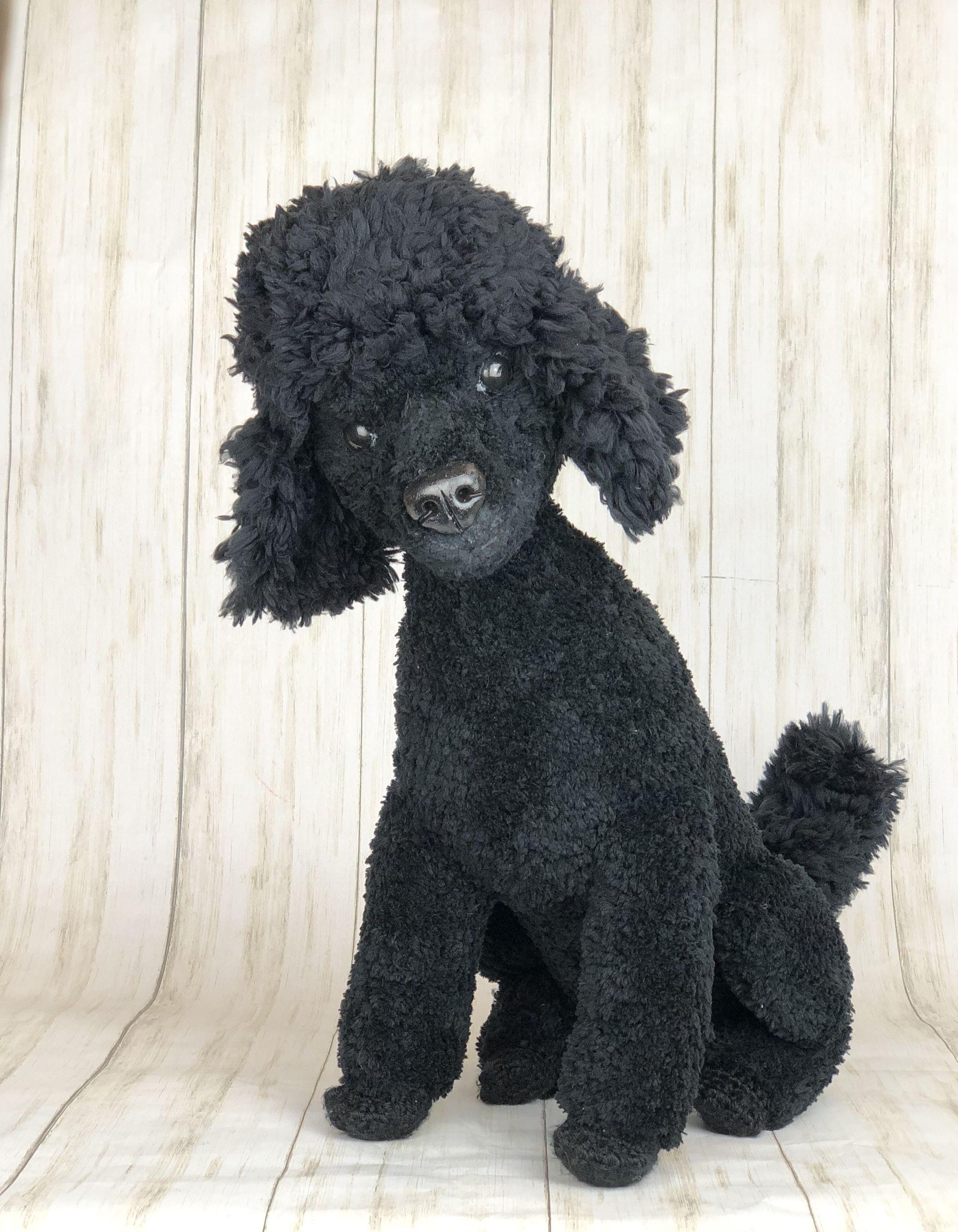 TOY POODLE Crochet Amigurumi Crochet Dog Crochet Puppy