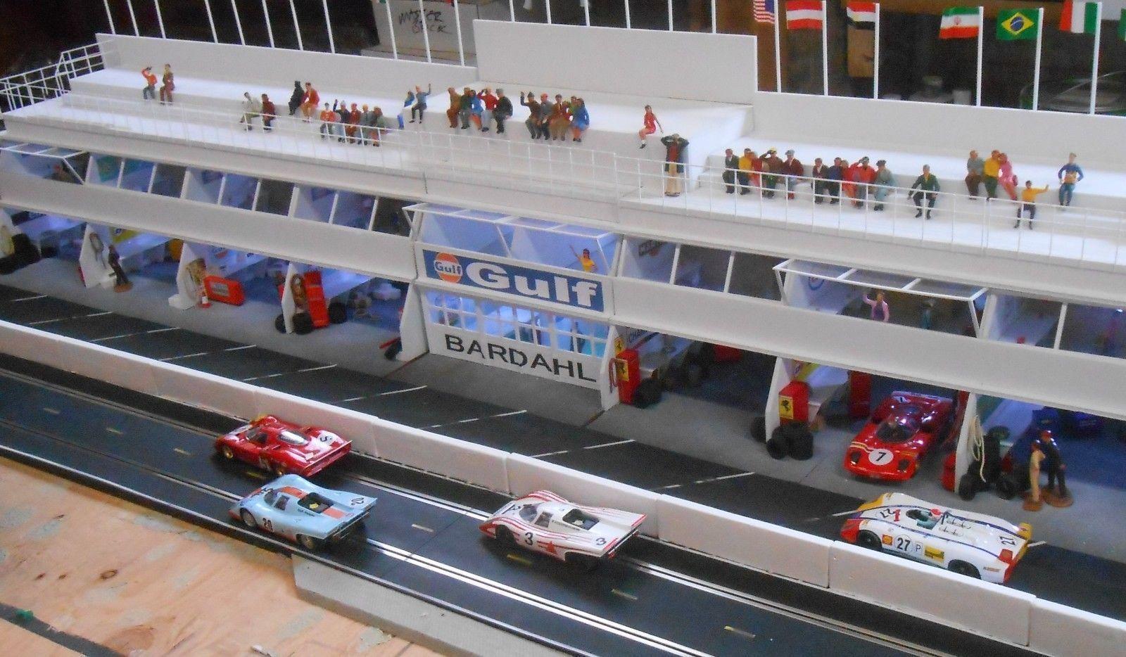 Details About 1 32 Slot Car Scenery Jersey Unpainted Barriers Guard Slot Cars Slot Slot Car Tracks