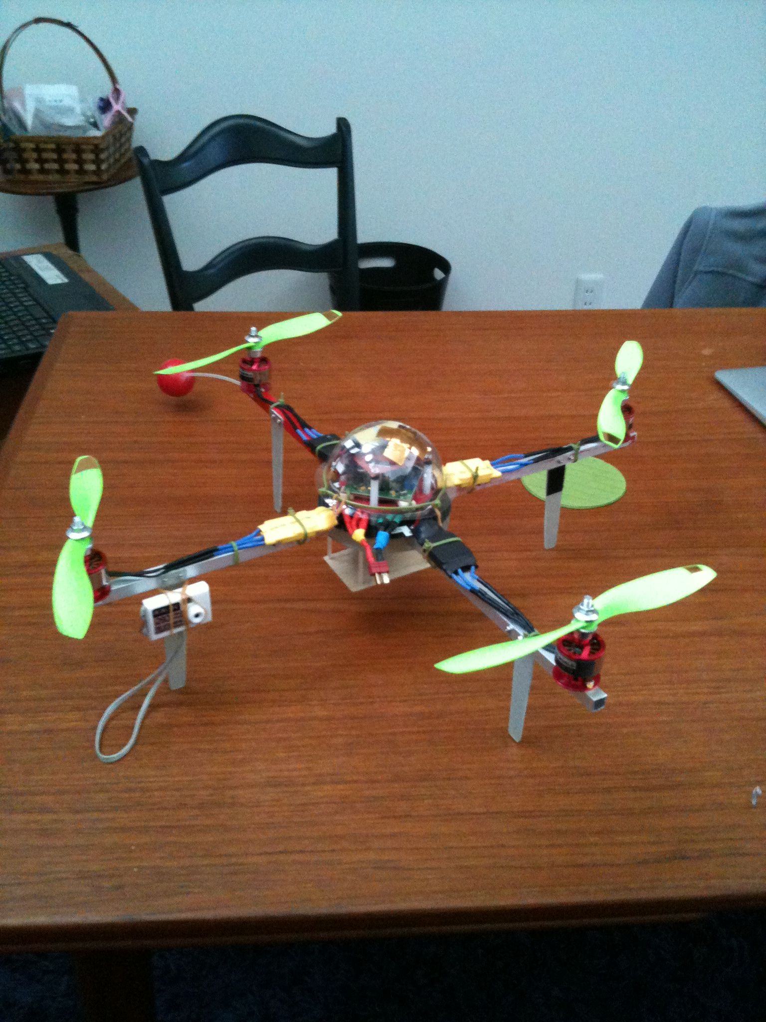 how to make a drone quadcopter at home