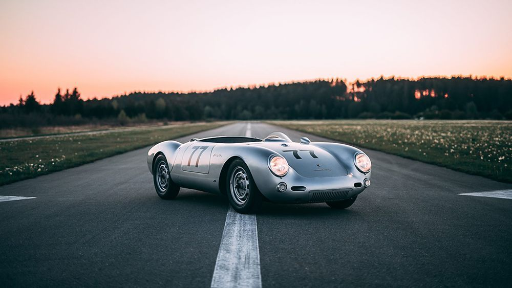 A Rare 1955 Porsche 550 Spyder Once Owned By Picasso S Son Is Up For Sale Porsche 550 550 Spyder Porsche