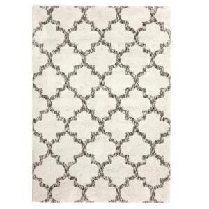 Carpet Art Deco Corsica White 8 Ft X 10 Ft Area Rug Rgar060826