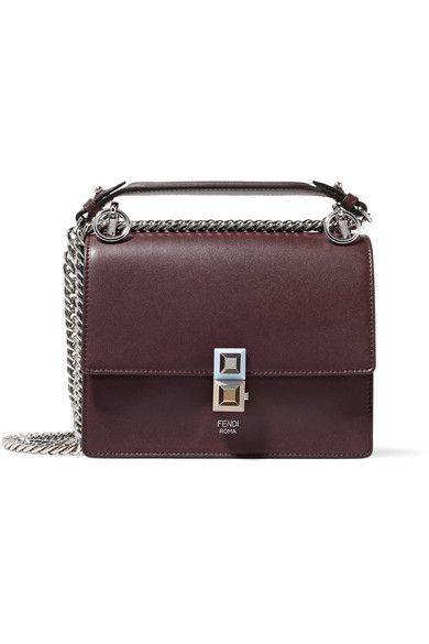 a84c28ae6201 Burgundy leather (Calf) Push-lock fastening front flap Weighs approximately  1.5lbs  0.7kg Made in Italy. FENDI .