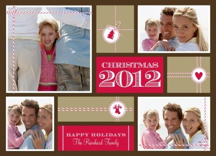 Christmas Presents Photo Card for PhotoAffections.com #christmas #holiday #photocard #holidaycard #stationery