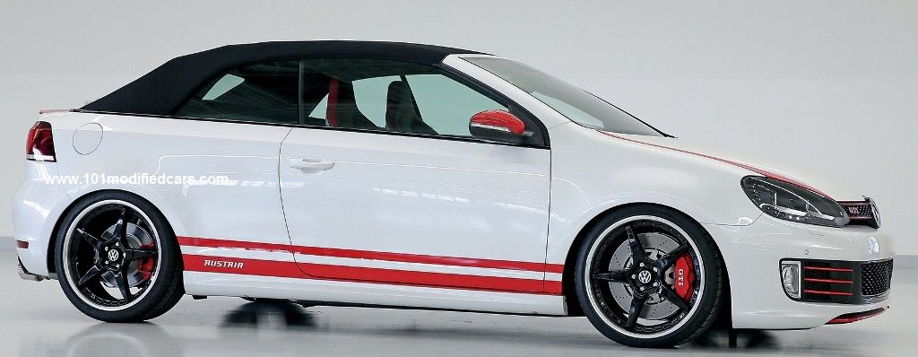 Modified Volkswagen Golf Vii Gti Cabriolet 7th Generation A7 Typ