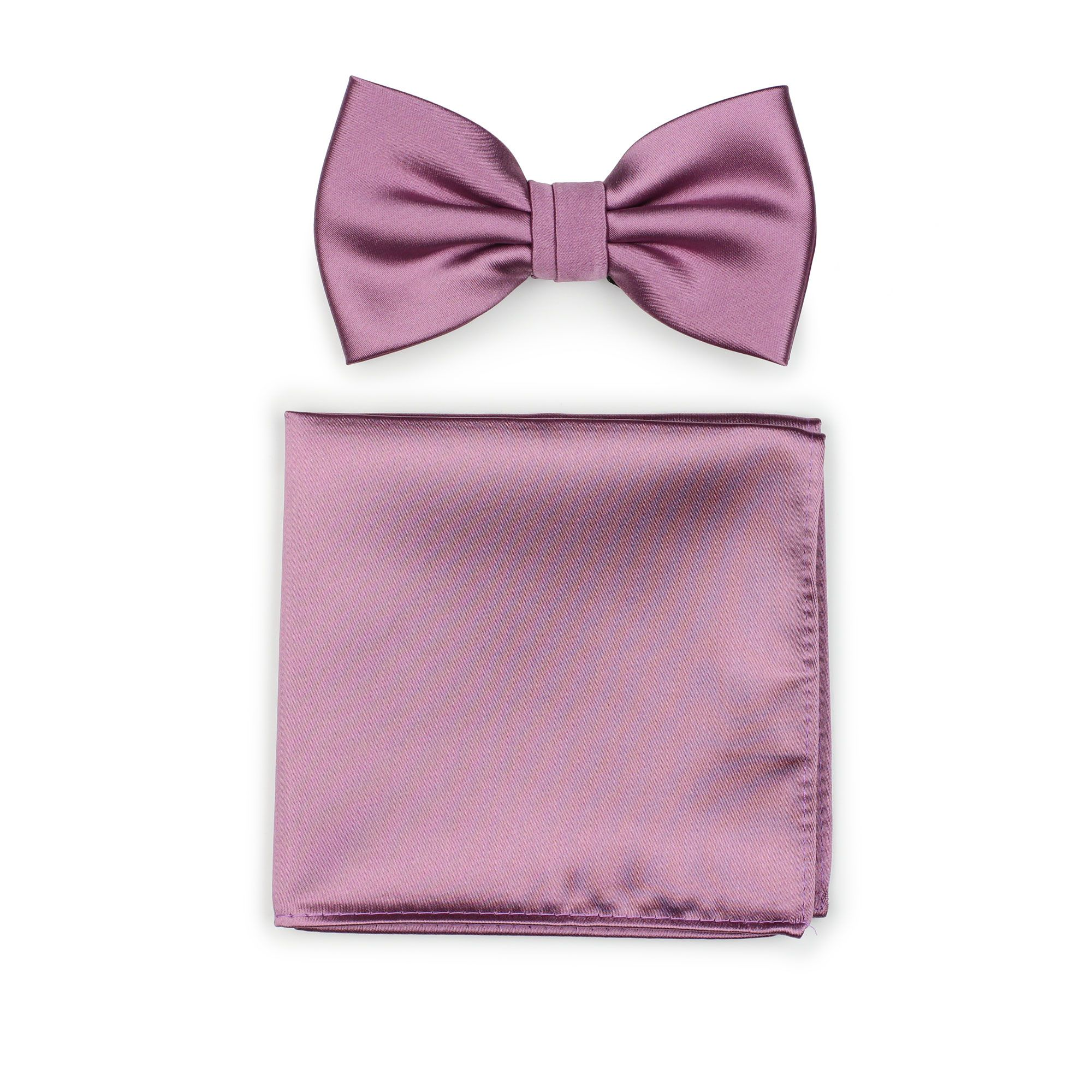 21cdef20c2fc Mauve bow tie and matching pocket square for wedding | Once Upon a ...