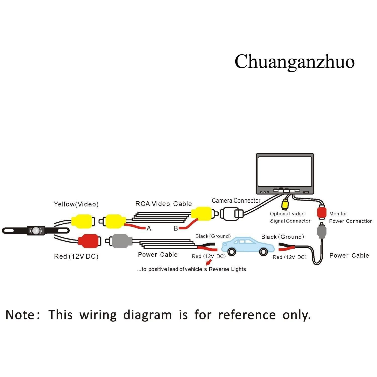 Image Result For Wiring A Backup Camera Diagram