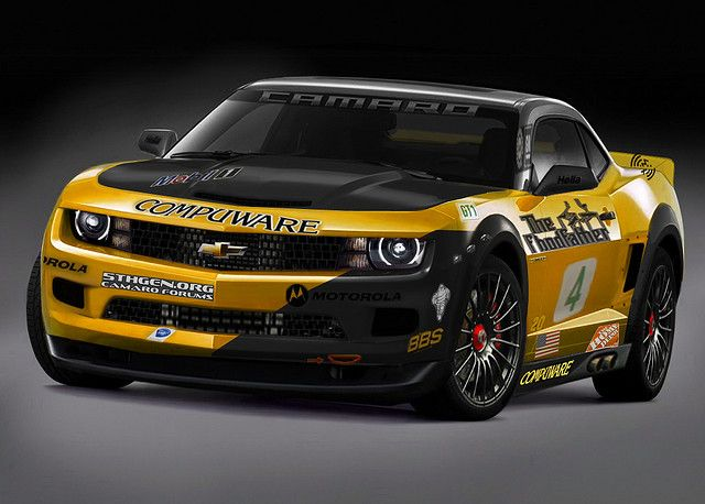 The Camaro G5 R Is Inspired By The Corvette C6 R The G5 Stands For Generation 5 Get It 5 Generations For The Camaro Ahhh Never Mind Nice Camaro Photo F