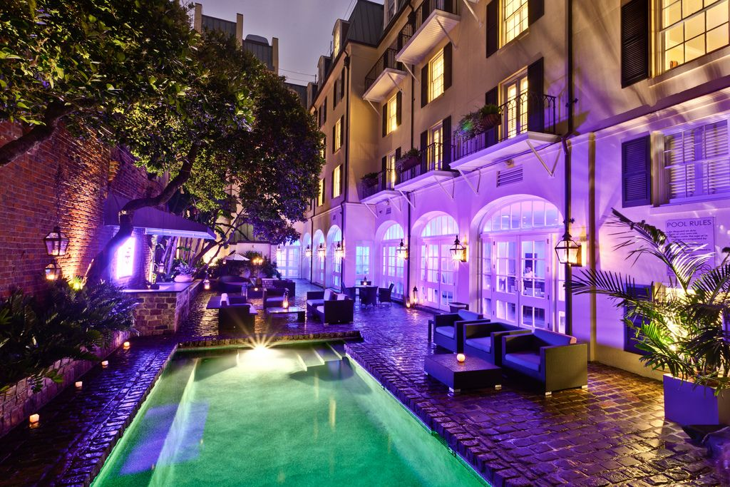 New Orleans Hotels >> New Orleans Best Hotel Pools New Orleans New Orleans