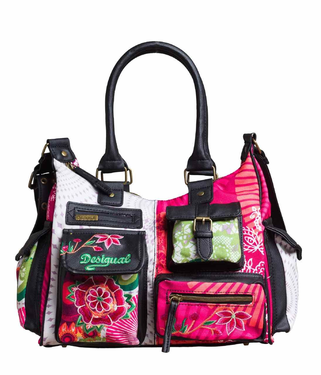 best authentic biggest discount look good shoes sale Desigual Bag London Floreada Carry canada | Purses | Bags ...