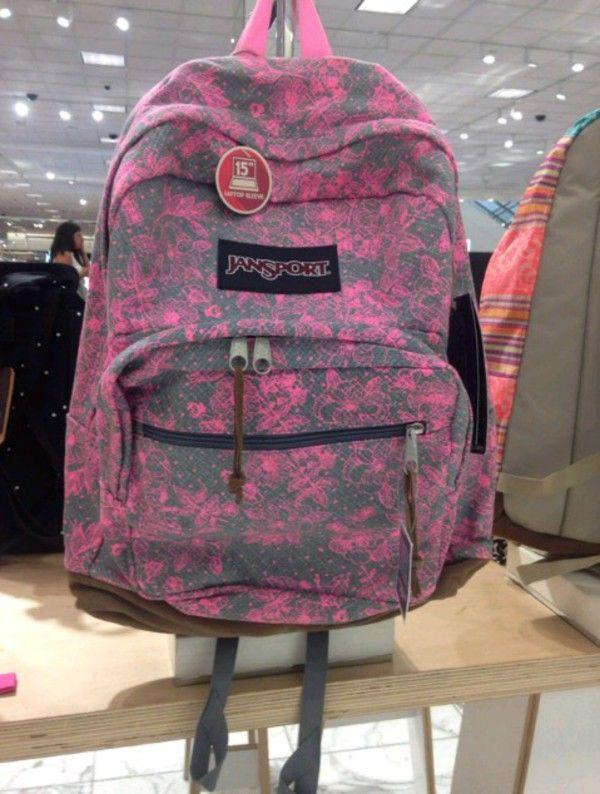 Amazon.com  JanSport Right Pack Laptop Backpack Shady Grey Vintage ... 741ed62174f27