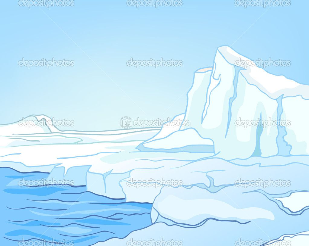 Arctic Landscape Colouring Pages (page 3)