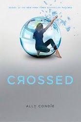 Crossed, by Ally Condie. The sequel to Matched. MORE GOOD STUFF. I love the cover.