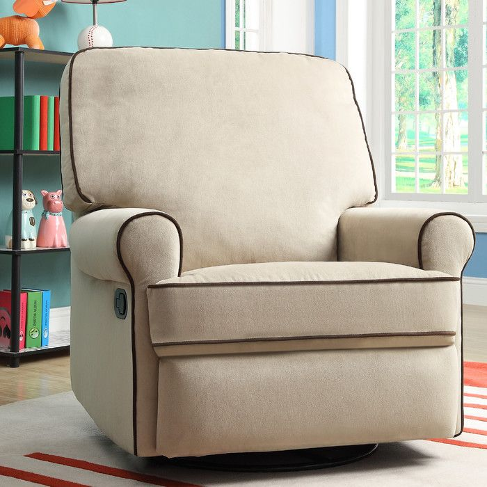 Pri Birch Hill Swivel Glider Recliner Gliders Nursery Rockers At Hayneedle