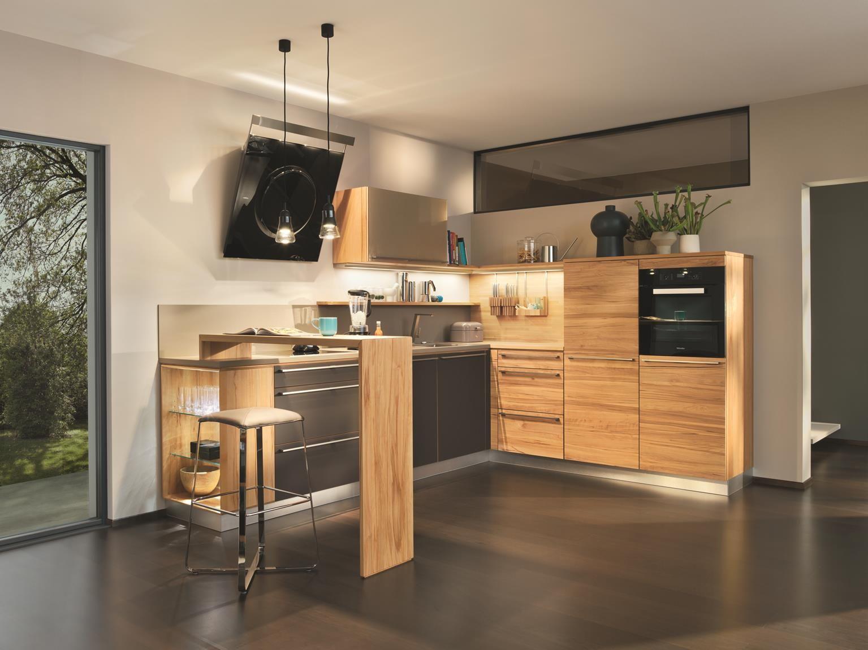 k che l1 holz kernbuche natur ge lt naturholzk chen team7 k che holz modern k che und l k chen. Black Bedroom Furniture Sets. Home Design Ideas