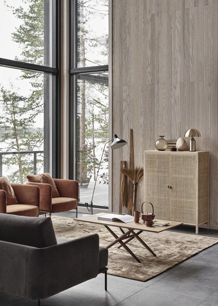 New home with  warm interior also coco lapine design rh pinterest