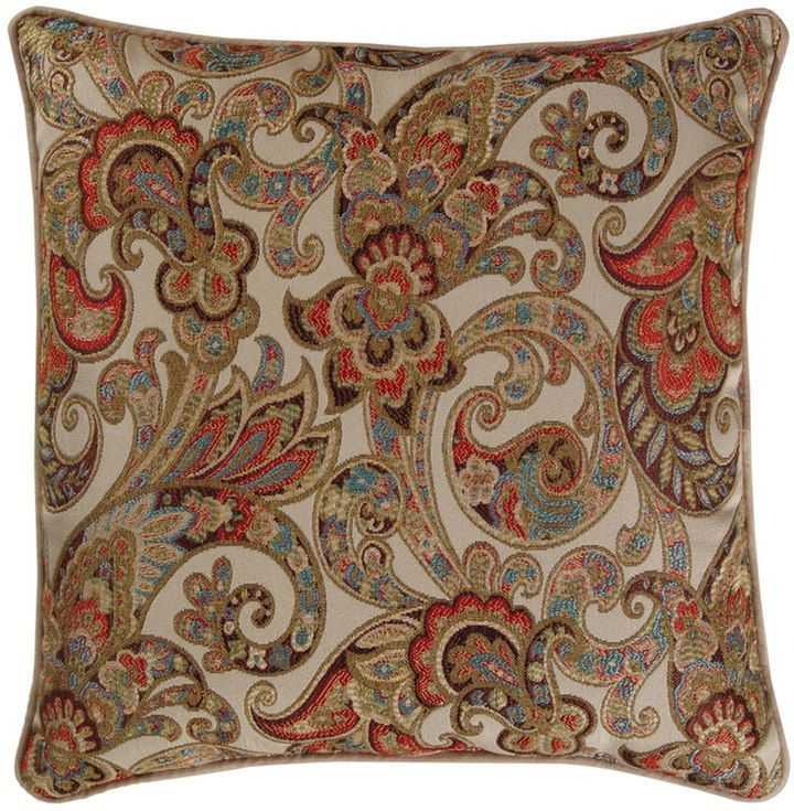 M Kennedy Home Grand Paisley Decorative Pillow