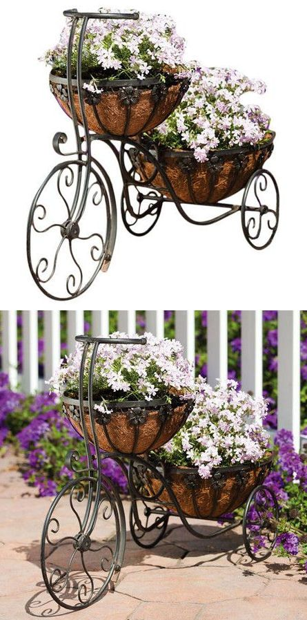 Double Layered Tricycle Planter Lt 3 Garden Mum Lawn And Dream