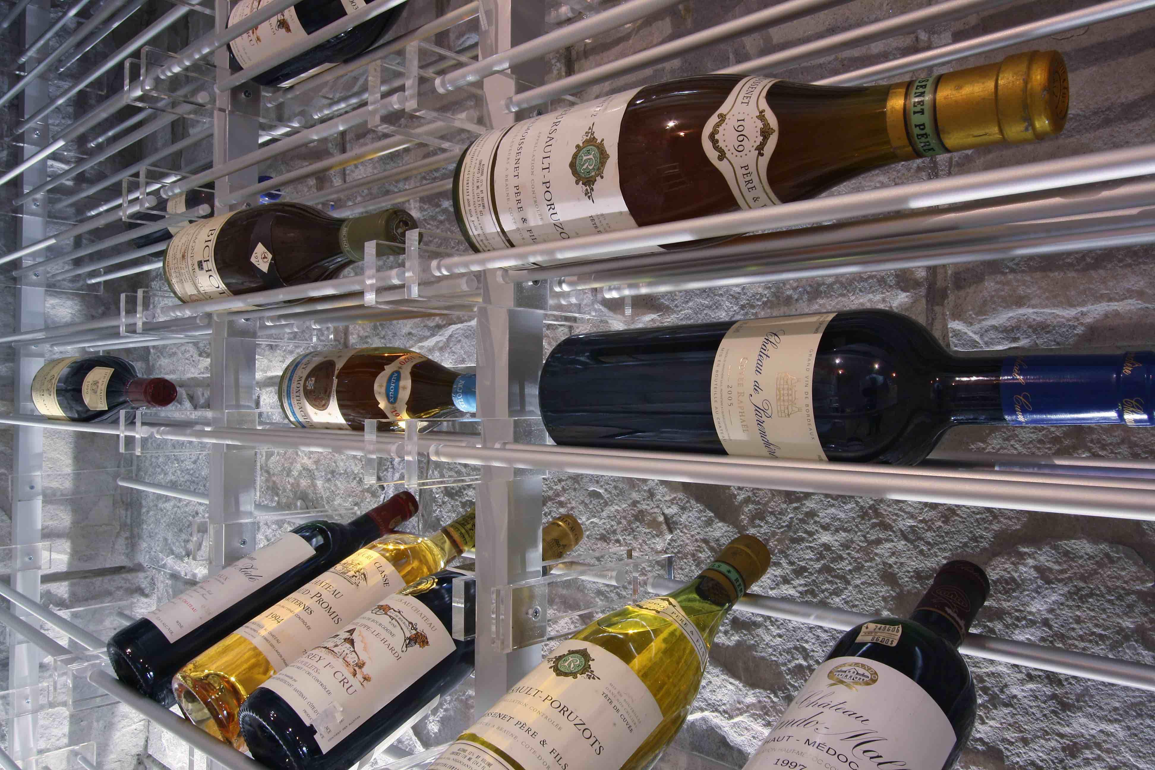 Wine Cellar Acrylic Wine Cellar Wine Bottle Rack