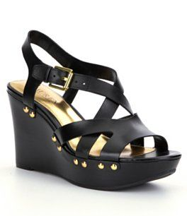 8ddda9c9be Aldo Jeroasien wedge sandal, Black | Ladies Shoes | Wedge sandals, Wedges,  Shoes