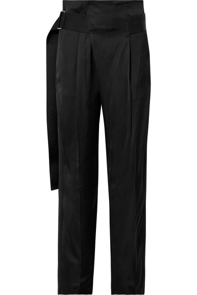 61f8247b03 Victoria Beckham - Pleated cady wide-leg pants in 2019 | Products ...