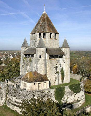 la cité médiévale de Provins, Île de France
