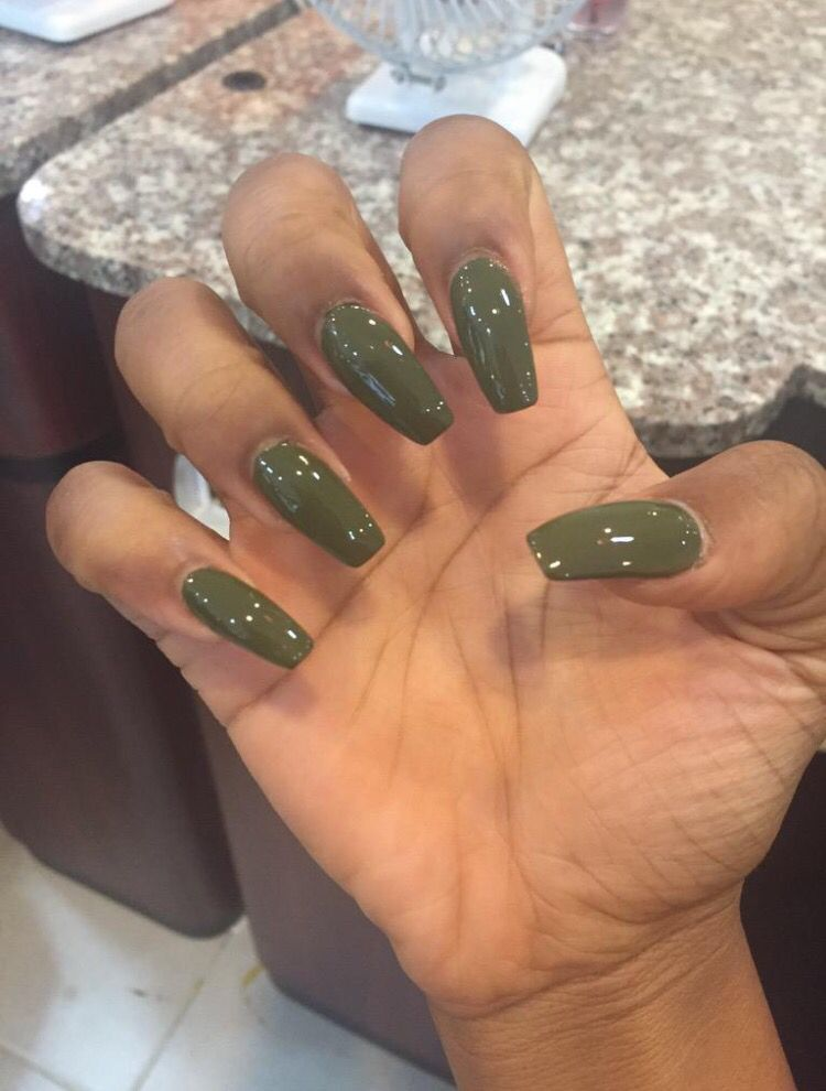 I love this color for fall | Acrylics | Pinterest | Acrylics, Nail ...