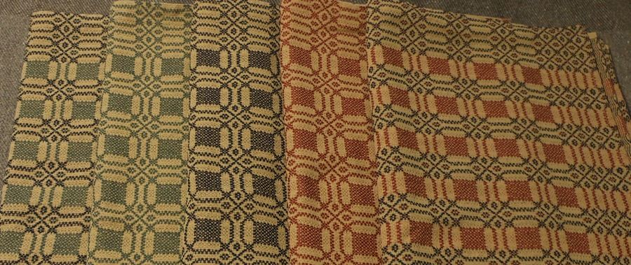 Family Heirloom Weavers Now Available In The Shop I Have Table Squares Runners And Placemats Family Heirloom Coverlets Heirlooms