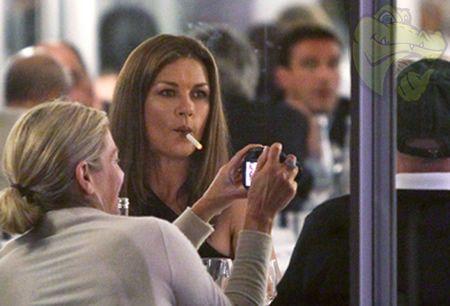 Image result for Catherine Zeta-Jones vaping