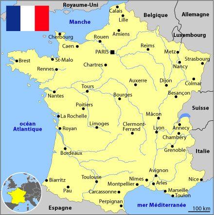 Arles Avignon Carte De France   My blog