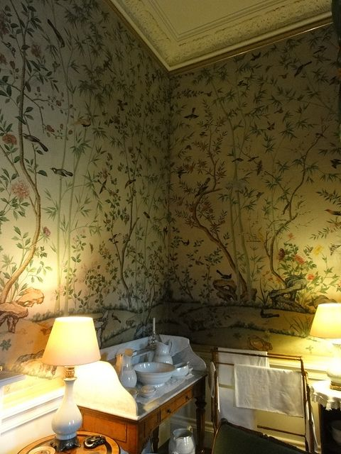 Chinoiserie Wallpaper At Chatsworth House Chatsworth House