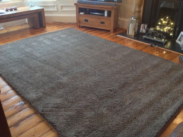 Ikea Adum Rug Large 3 Metres X 2 Light Brown Really Good Condition Cost 150 New