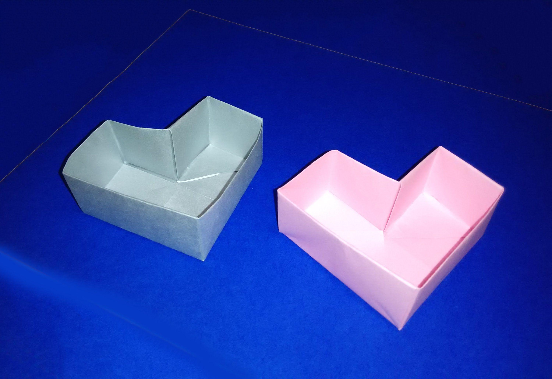 Great ideas for easter heart box easy to do origami box great ideas for easter heart box easy to do origami box cajita jeuxipadfo Choice Image