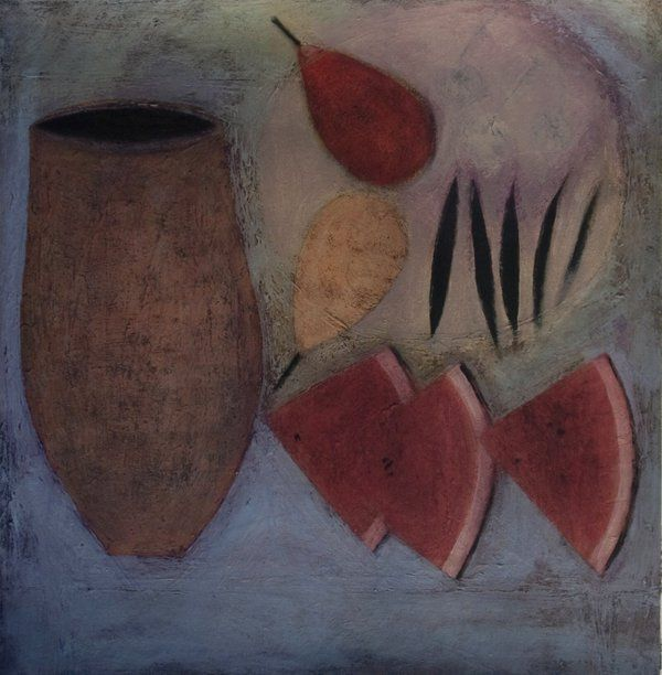 Jar with Watermelon, Pears and Beans, (2010)