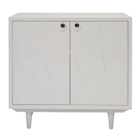 Best Of Two Door Cabinet White
