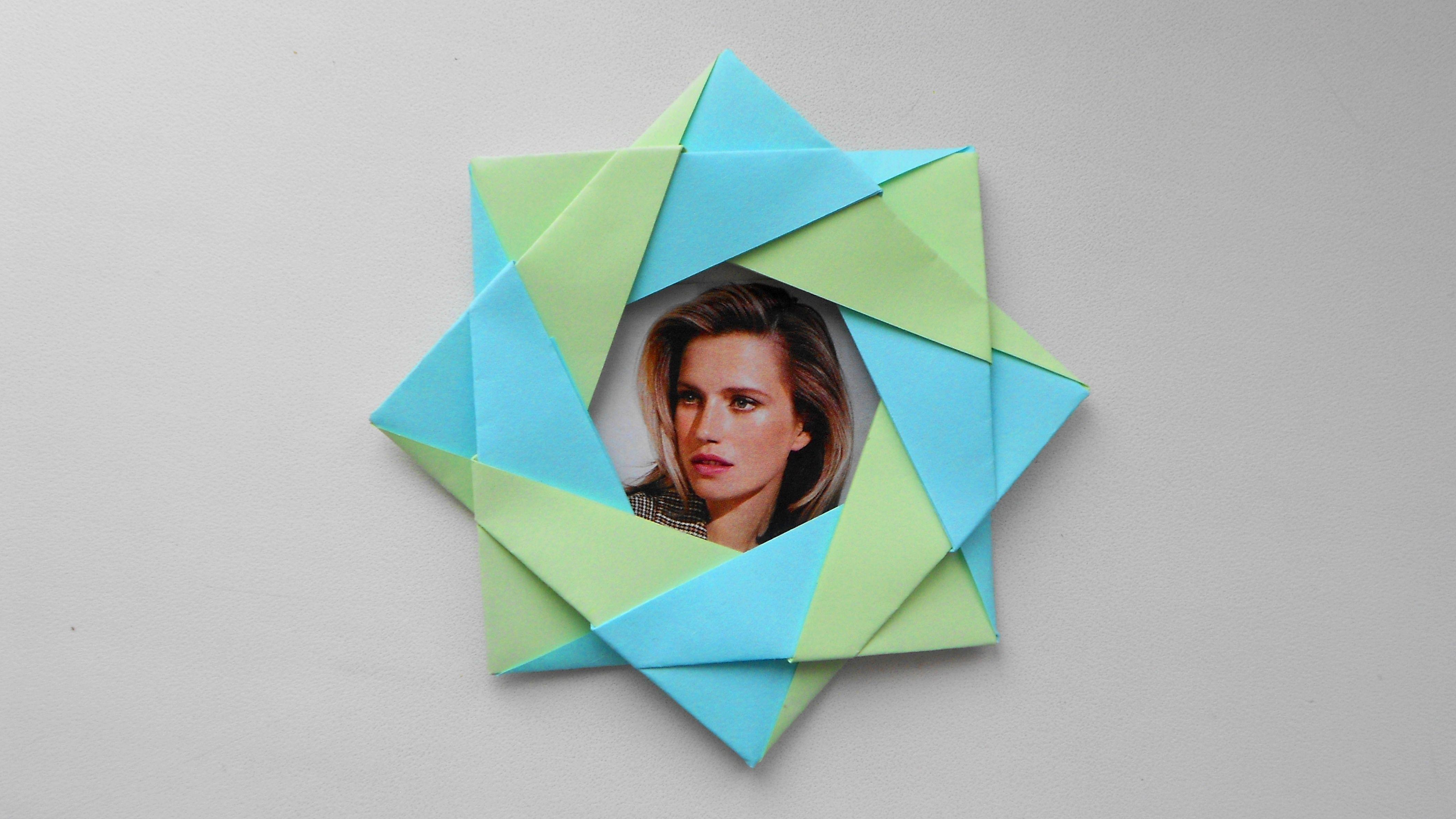 тренды, такие модульное оригами рамка для фото все модели будет