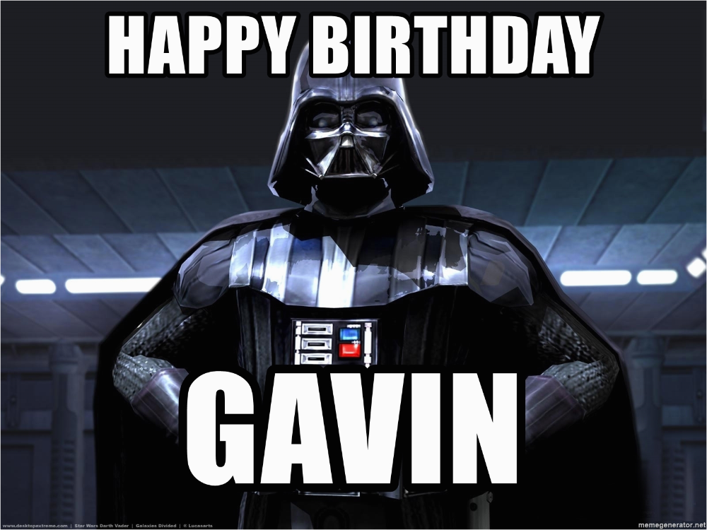 Star Wars Birthday Meme Generator Happy Star Wars Birthday Darth Vader Meme Birthday Meme
