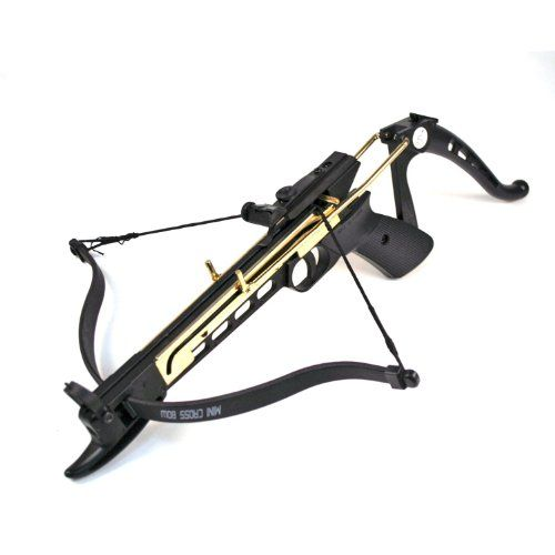 This 80 Lb Draw Weight Crossbow Uses An Easy And Safe To Use Cocking Mechanism Manufactured With A Strong Plastic Bod Crossbow Tactical Gear Survival Tactical