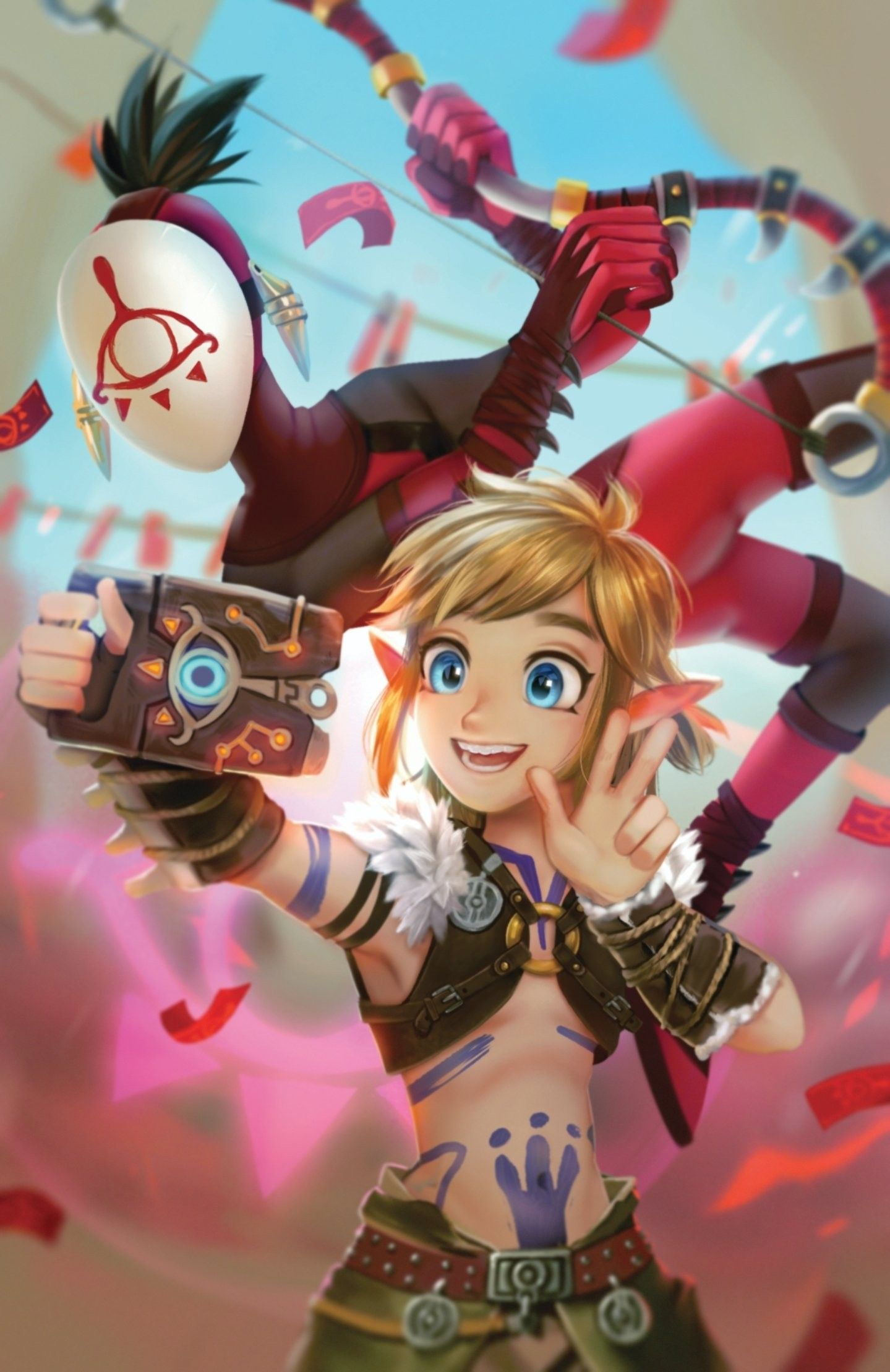 Legend Of Zelda Breath Of The Wild Art A Link Selfie With Yiga Photobomb Botw Miesmud The Legend Of Zelda Die Legende Von Zelda Legend Of Zelda