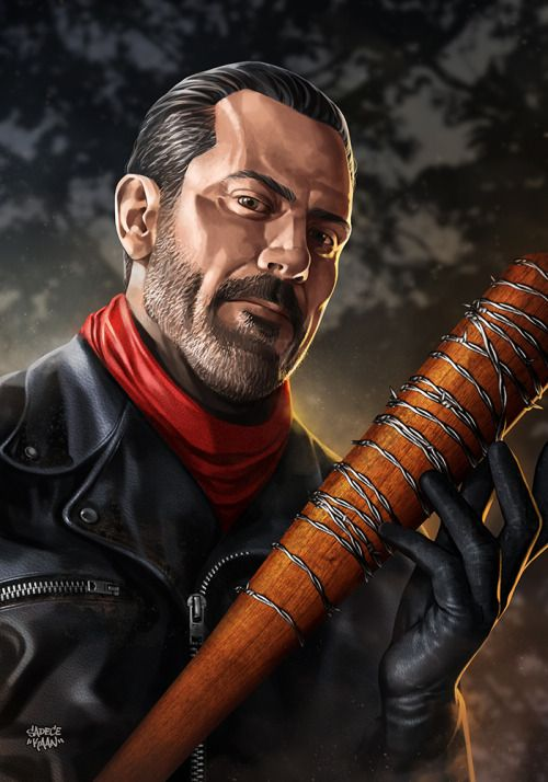 The Walking Dead Portraits - Created by Sadecekaan