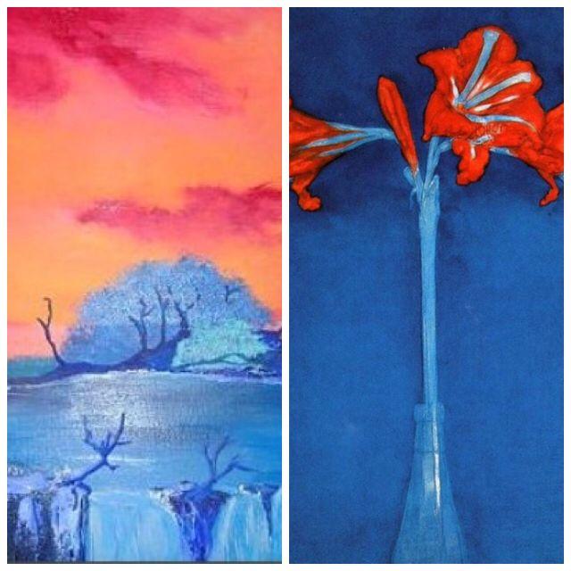 Warm koud kleurcontrast een contrast waarbij warme en koude kleuren elkaar versterken - Kleur warm en koud ...
