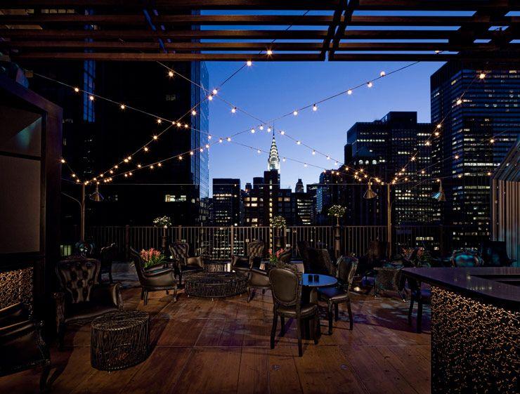 Die Besten Rooftopbars Ny Dachrestaurant Hausdach New York Urlaub