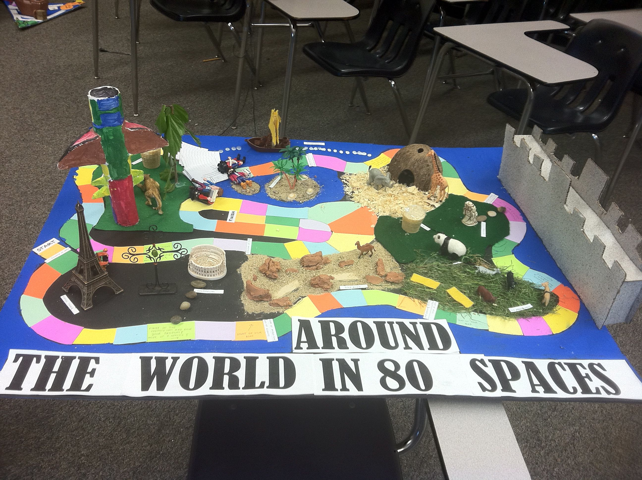 Ap world history game board project kids learning students and this would be a great activity to do with world geography gumiabroncs Images