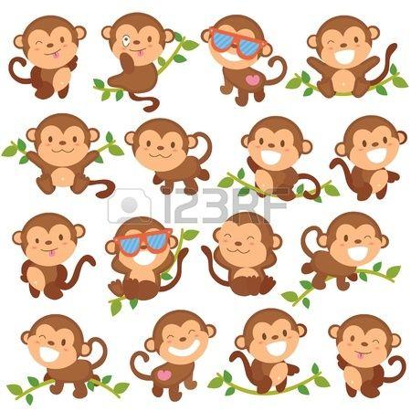 speelse apen set