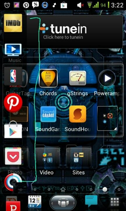 Unity Launcher pro Video site, Android apps, App