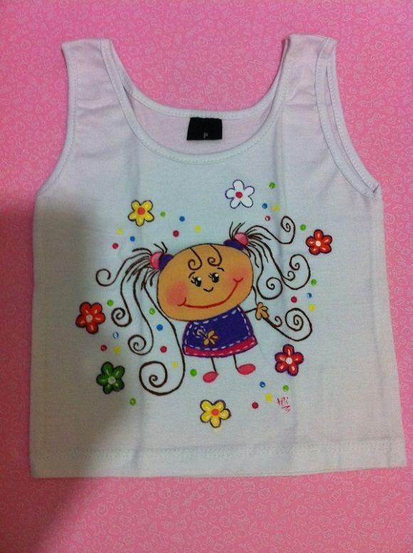 Pintura em camiseta infantil pesquisa google camisetas - Pintura para camisetas ...