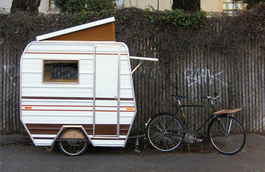 cute tiny caravan   love it