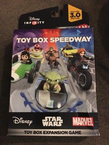 Disney Infinity 3 0 Toy Box Speedway Disney Infinity Toy Boxes Disneyland Planning