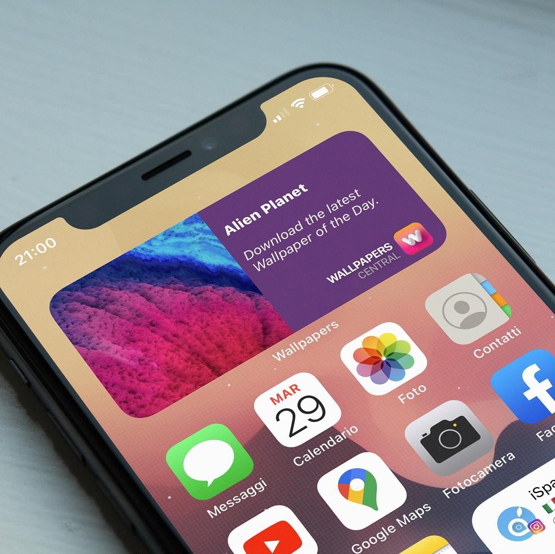 Sea Dual Homescreen Iphone Dual Homescreen